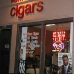 Front Door of Kern Place Cigars